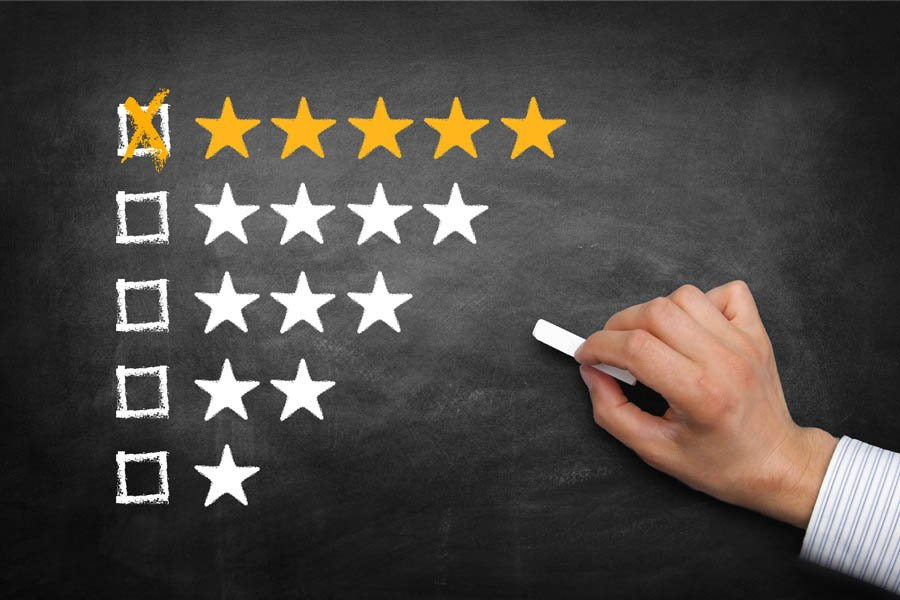 Using product reviews